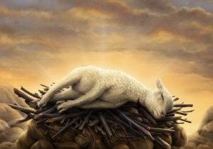 qurban lamb sacrifice take away burdens tremendous ransom