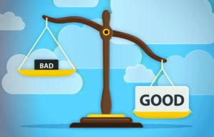 scale good vs bad
