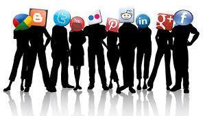 shadowed-humans-social-media-icons