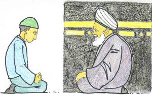 sufi meditation kaba and kibla