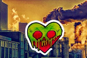 toxic heart and factory