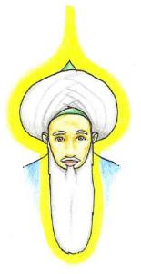turban face light Energy of Head and beard muraqabah - Shaykh