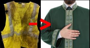 work cloths to sunnah cloths